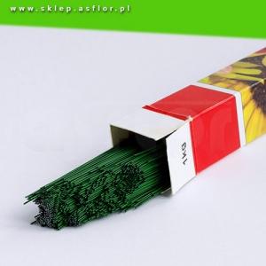 drut florystyczny 05 mm zielony